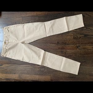 Beige Bullhead brand jeans.